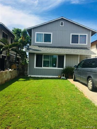 Ewa Beach Single Family Home For Sale: 91-1324 Kamahoi Street