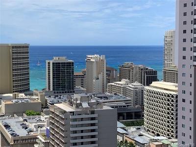Honolulu Condo/Townhouse For Sale: 445 Seaside Avenue #3820