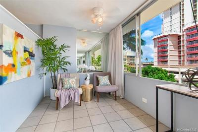 Honolulu Condo/Townhouse For Sale: 435 Seaside Avenue #303