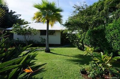 Honolulu Single Family Home For Sale: 1522 Piikea Street