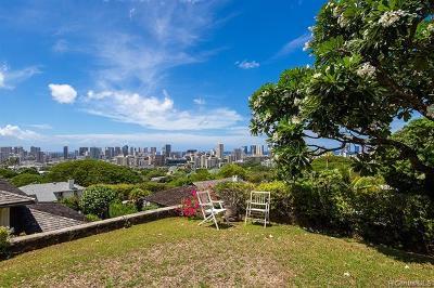 Honolulu Single Family Home For Sale: 2030 Ahualani Place #A