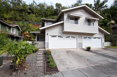 Mililani Single Family Home For Sale: 95-1359 Wikao Street #43