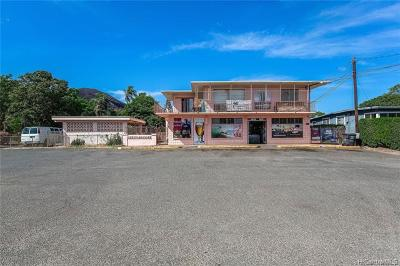 Honolulu County Commercial For Sale: 87-1117 Paakea Road