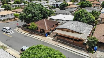 Honolulu Single Family Home For Sale: 3255 George Street