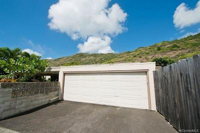 Honolulu Single Family Home For Sale: 610 Kuliouou Road