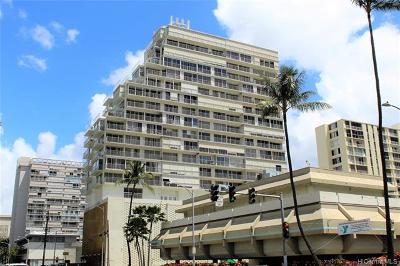 Honolulu County Condo/Townhouse For Sale: 419 Atkinson Drive #706