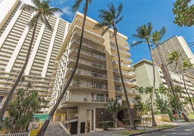 Honolulu Condo/Townhouse For Sale: 2222 Aloha Drive #803