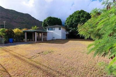 Honolulu, Kailua, Waimanalo, Honolulu, Kaneohe Single Family Home For Sale: 365 Kuliouou Road