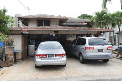 Single Family Home For Sale: 94-324 Paiwa Street