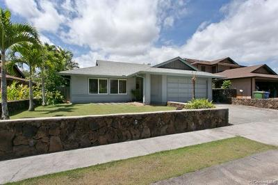 Mililani Single Family Home For Sale: 95-509 Poiki Place