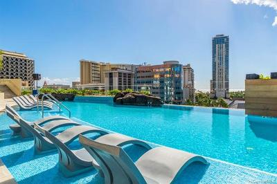 Honolulu HI Condo/Townhouse For Sale: $820,000
