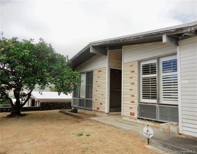 Single Family Home For Sale: 900 Aipo Street