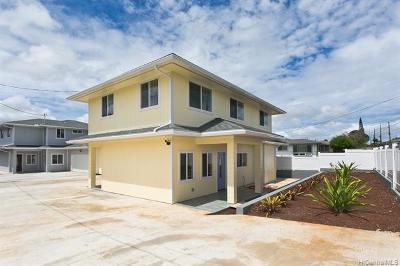 Honolulu County Single Family Home For Sale: 18 Kaliko Drive