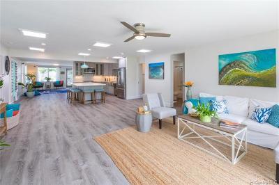 Single Family Home For Sale: 550b Maluniu Avenue