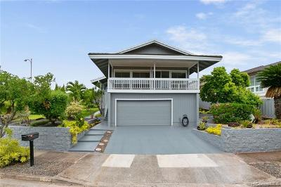Aiea Single Family Home For Sale: 98-1504 Piki Place