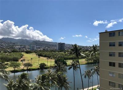 Honolulu County Condo/Townhouse For Sale: 2345 Ala Wai Boulevard #1013