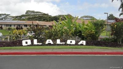 Honolulu County Condo/Townhouse For Sale: 951050 SW Makaikai Streets #30E
