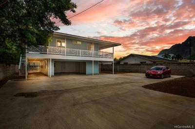 Single Family Home For Sale: 41-875 Kalanianaole Highway