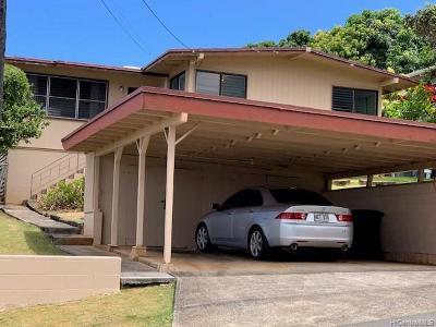 Single Family Home For Sale: 44-127 Mikiola Drive