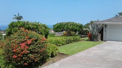 Kailua-Kona Single Family Home For Sale: 76-245 Keakealani Dr