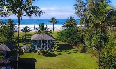 Hanalei Single Family Home For Sale: 5372 Weke Rd