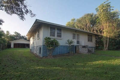 Hawi, Kapaau Single Family Home For Sale: 55-513-G Hawi Road