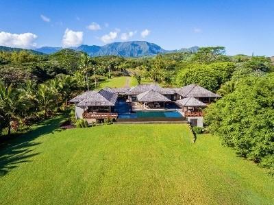 Kauai County Single Family Home For Sale: 6180 Kahiliholo