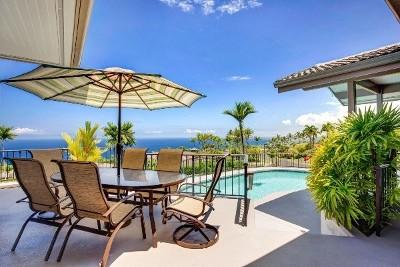 Kailua-kona Single Family Home For Sale: 78-6887 Kuhinanui St