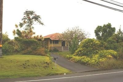 Hilo Single Family Home For Sale: 560 Ainaola Dr