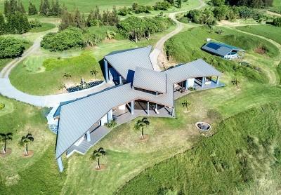Single Family Home For Sale: 57-1719 Kohala Mountain Rd