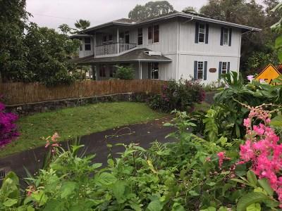 Kealakekua Single Family Home For Sale: 81-6652 Mamalahoa Hwy.