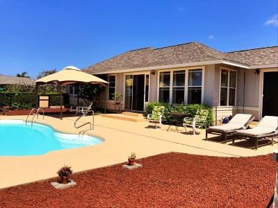 Kailua-kona Single Family Home For Sale: 75-6186 Nakukui Dr