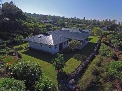 Kailua-kona Single Family Home For Sale: 73-1225 Kauilaniakea Dr
