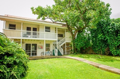 Hanalei Single Family Home For Sale: 5-5428 Kuhio Hwy #A and #