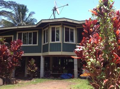 Hanalei Single Family Home For Sale: 4787 Alaeke Rd