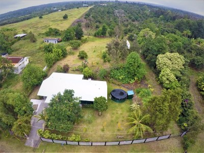 Captain Cook Single Family Home For Sale: 89-771 Lani Kona Rd