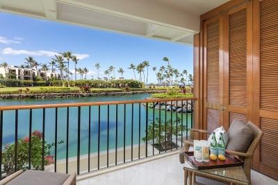 Mauna Lani Resort, 49 Black Sand Beach Condo For Sale: 68-1399 Mauna Lani Dr #C102