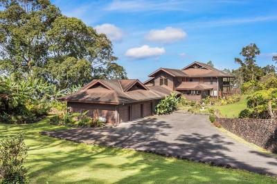 Kailua-Kona HI Single Family Home For Sale: $1,787,000