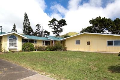 Waimea, Kamuela Single Family Home For Sale: 65-1552 Kawaihae Rd