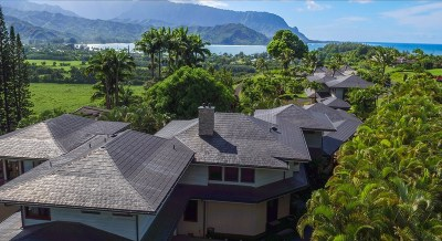 Hanalei Single Family Home For Sale: 4951 Hanalei Plantation Rd