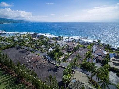 Kailua-Kona Residential Lots & Land For Sale: 75-5477 Kona Bay Dr