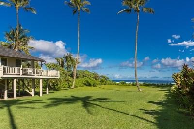 Kauai County Single Family Home For Sale: 7206 Alamoo Rd