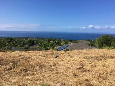 Kailua-Kona Residential Lots & Land For Sale: 77-460-A Moeuhane Pl