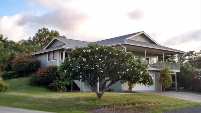 Waikoloa Single Family Home For Sale: 68-1768 Laie Pl