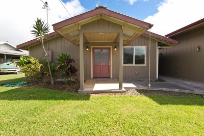 Waimea, Kamuela Single Family Home For Sale: 64-5270 Kipahele St