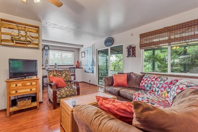 Kailua-kona Single Family Home For Sale: 75-201-A Ala Onaona St #Back Hou