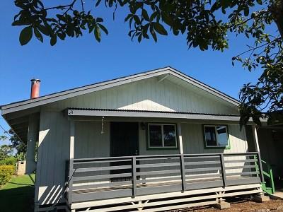 Waimea, Kamuela Single Family Home For Sale: 64-252 Mamalahoa Hwy