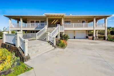 Kailua-kona Single Family Home For Sale: 71-1736 Puu Lani Dr