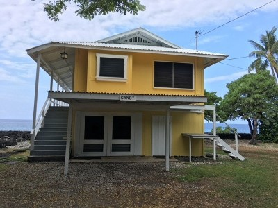 Hawaii County Single Family Home For Sale: 77-6580 Alii Drive