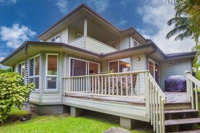 Hanalei Single Family Home For Sale: 5115 Papio Pl